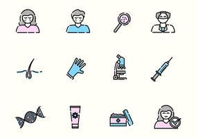 Dermatology Vector Icons