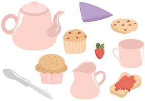Gratis Tea Time Vectors