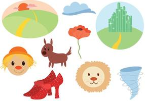 Gratis Wizard Of Oz Vectors