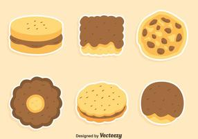 Koekjes En Cake Collection Vector
