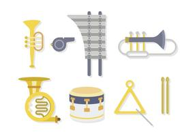 Flat Marching Band Vectors
