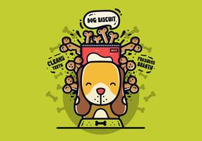 Free Dog Biscuit Vector