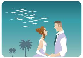 Romantic-couple-vector
