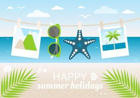 Vector Free Design Summer Time Background