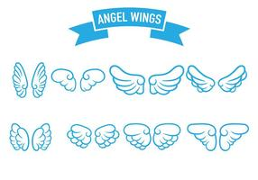 Angel Wings Icon Vector