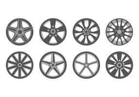 Free Sporty Allow Wheels Icons Vector