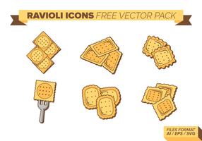Ravioli kostenloses Vektor Pack
