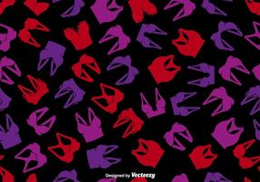 Vector Woman's Clothing Repeating Pattern