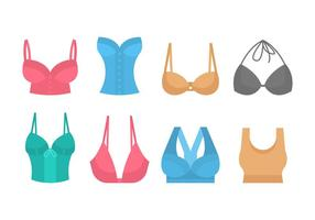Free Bra Vector Collection