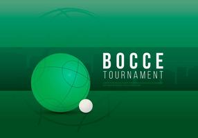 Bocce Tournament Illustration vector