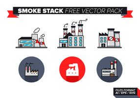 Pacote livre de vetores da pilha de fumaça