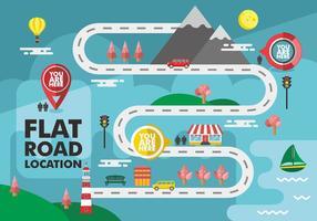 Roadmap Vector Design