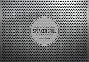 Grey Metalic Speaker Grill Texture Background vector