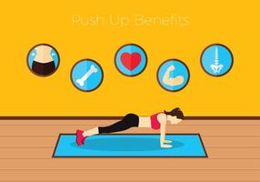 Push Up Benefits Free Vector