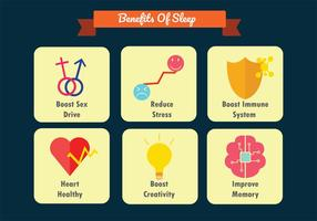 Sleep Benefits Vector Pack