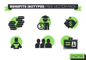 Beneficios Isótopos Pack Vector Libre