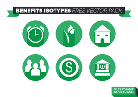 Benefícios Isotypes Free Vector Pack