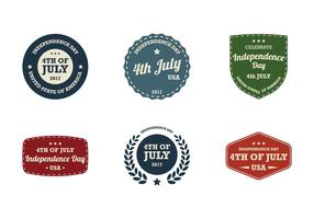 4th July Vintage Label