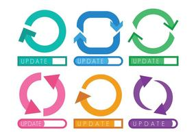 Update icon vector set