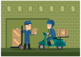 Free Movers Illustration Vector