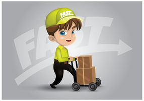 Free Movers Character Vector