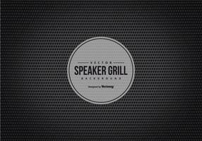 Black Speaker Grill Texture Background vector