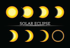 Icono Eclipse Vectores