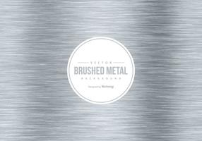 Vektor borstad metall bakgrund