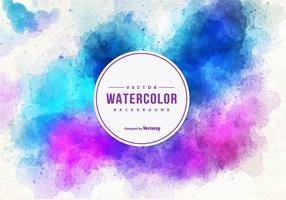 Beautiful Watercolor Vector Background