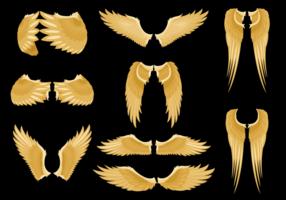 Vecteur d'ailes d'ange