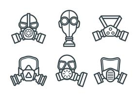 Ademhalingsvector pictogrammen