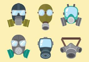Iconos Del Respirador Del Vector