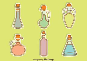 Hand Drawn Decanter Collection Vector