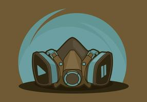 Respirator Illustration vector