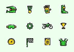 Utestående Motorcross-vektorer