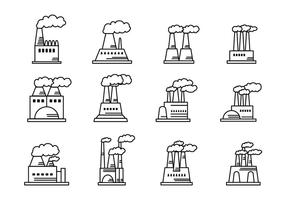 Smoke Stack Icons