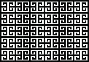 Tradition Greek Key Pattern vector