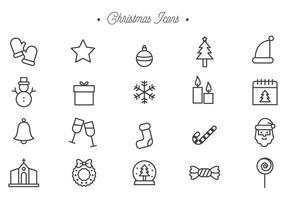 Vectores libres de la Navidad