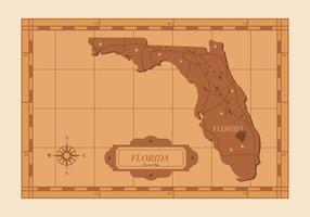 Florida karta illustration