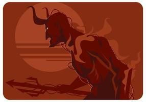 Lucifer Illustration Vector