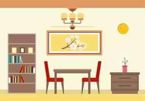Dining Room Free Vector