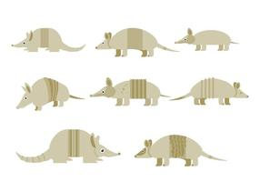 Free Armadillo Icons Vector