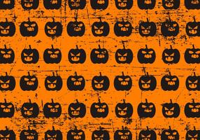 Gullig Halloween Grunge Bakgrund
