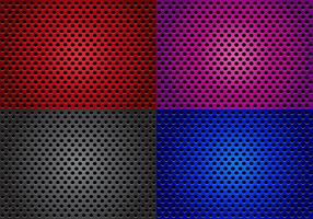 Speaker Grill With Different Color Vectors