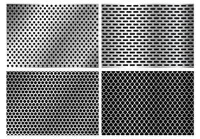 Metallic Speaker Grill Textur vektor