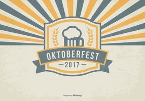 Retro Oktober Fest Ilustración