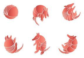 Ícones de vetores de tatuagem