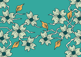Illustration vectorielle du dogwood