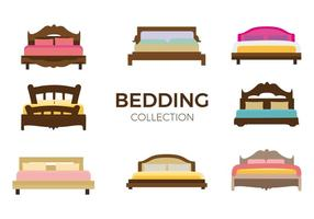 Gratis Möbler Bed Vector