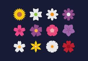 Flower Flat Icons